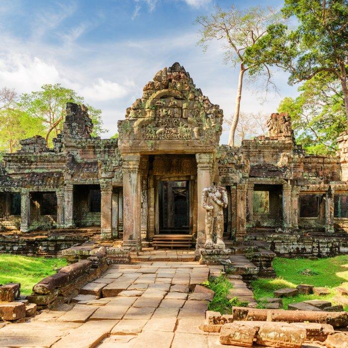 KH.Preah_Khan Tempel Preah Khan in Siem Reap Kambodscha
