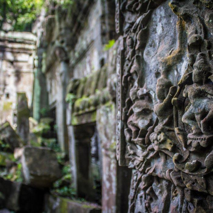 KH.POI.Beng_Mealea_Tempel Kambodscha Siem Reap Beng Mealea Tempel