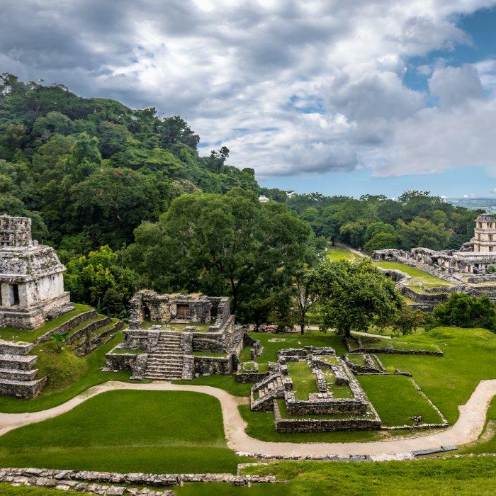 MX.Palenque Die archäologische Fundstätte in Palenque
