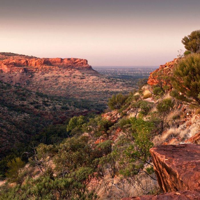 AU.Kings Canyon 2 Sonnenuntergang im Kings Canyon