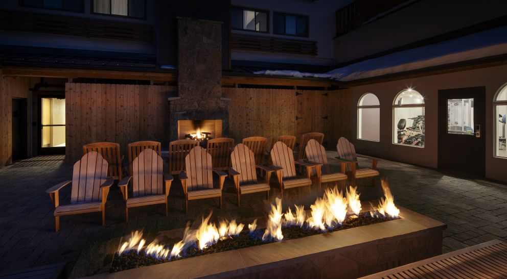 Highline Vail outdoor terrace patio
