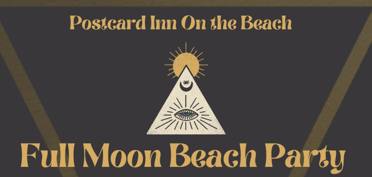 Full Moon Beach Party