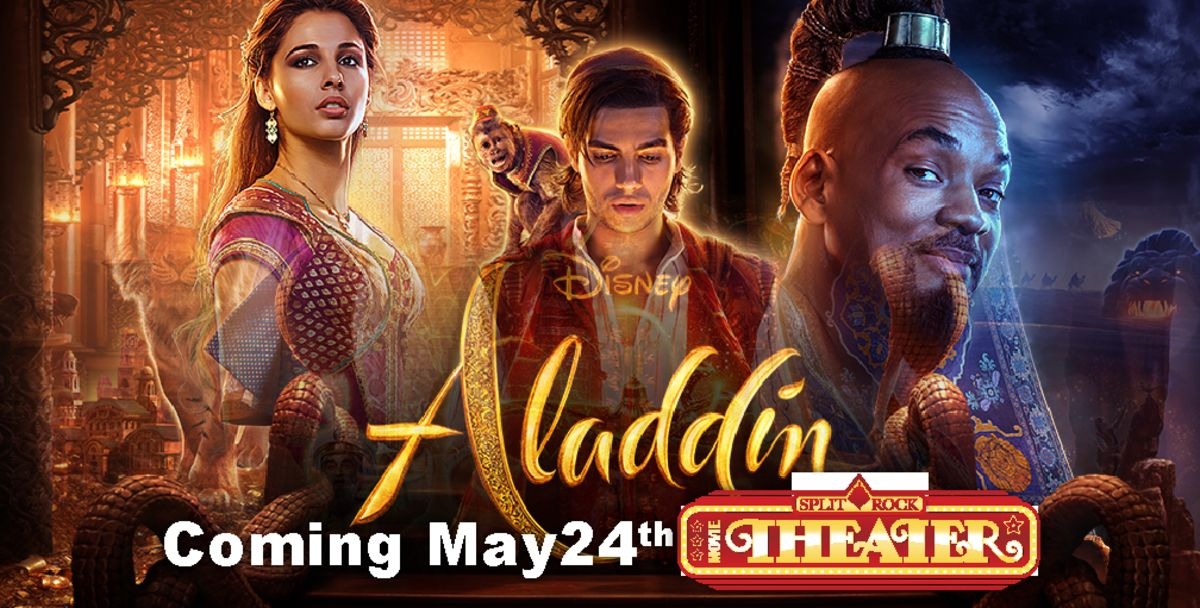 FB Aladdin Split Rock Movie Theater2