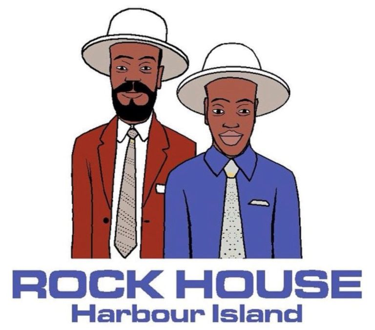 Rock House Bahamas Logo white