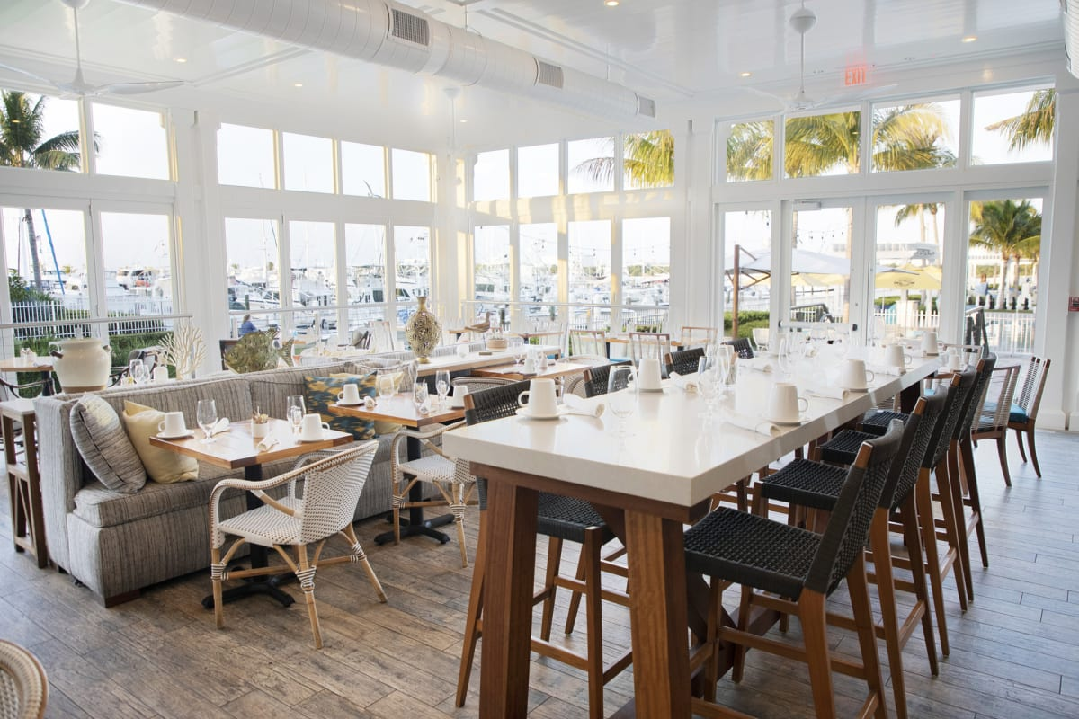 Yellowfin Bar & Kitchen Key West High Top Seating