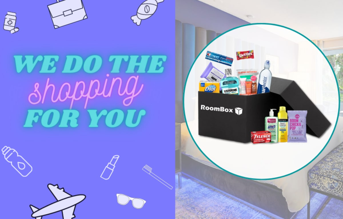 Roombox shopping