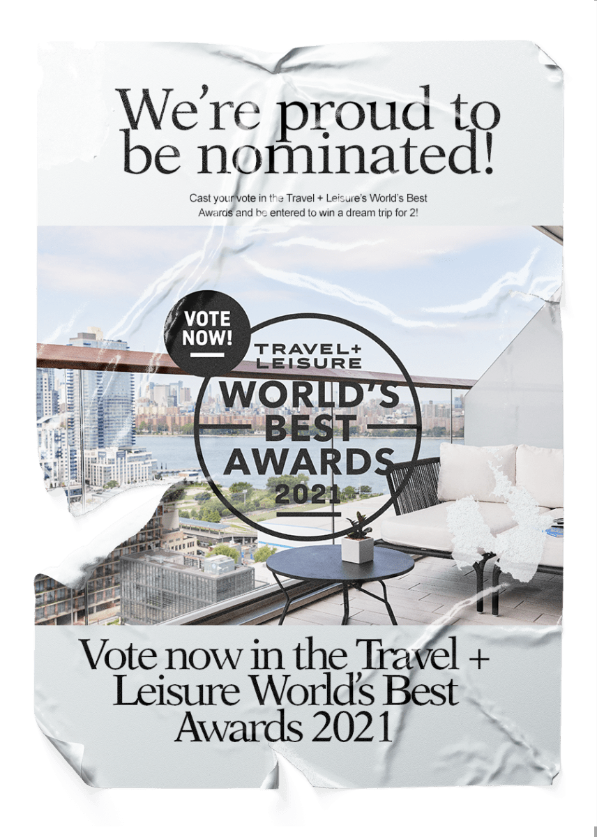 Travel + Leisure World's Best Awards 2021