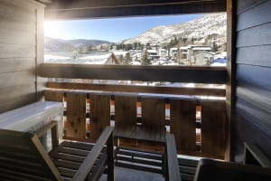 Vail King Bedroom Balcony