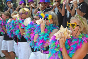 The Conch Shell Blowing Contest