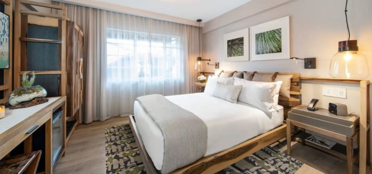 The Superior Queen ADA Room features one queen size bed for your comfort