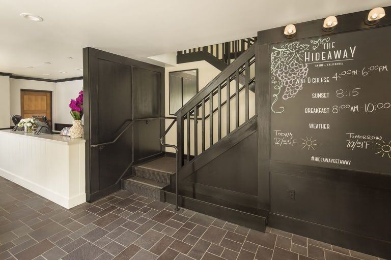 Hideaway Entry _ Reception