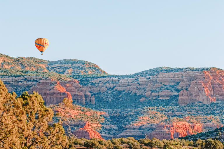 hot air balloon sedona