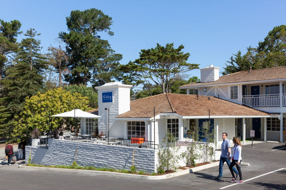 Save 50% every third night when you book more than two nights at the Getaway in Carmel California
