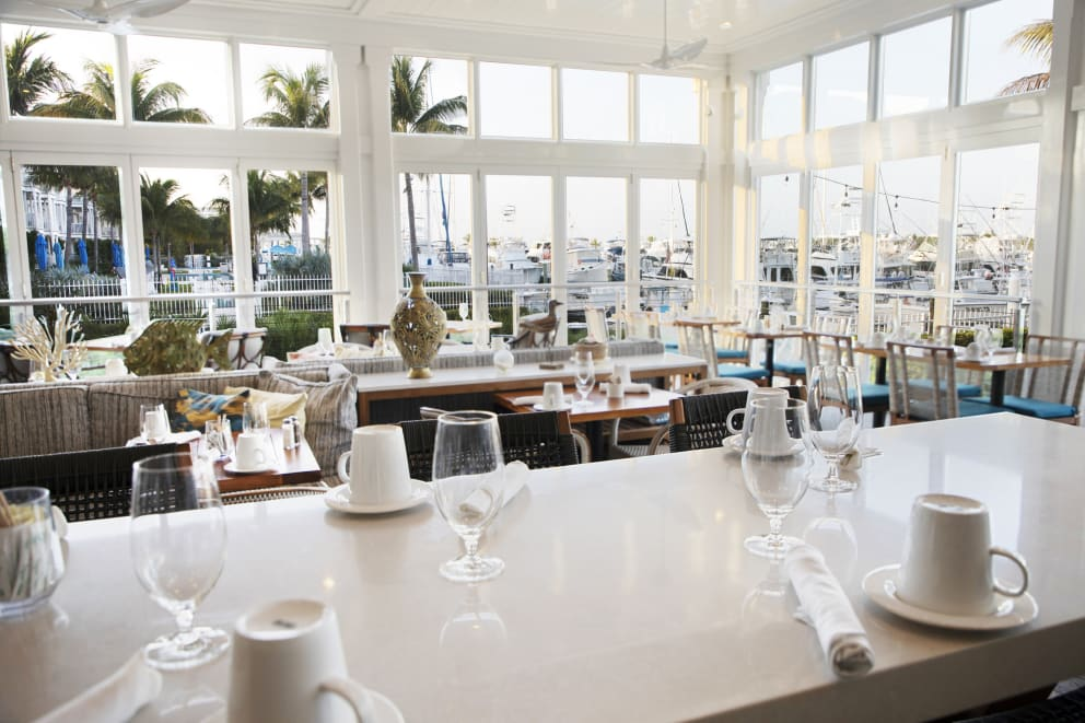 Yellowfin Bar & Kitchen Key West Marina View