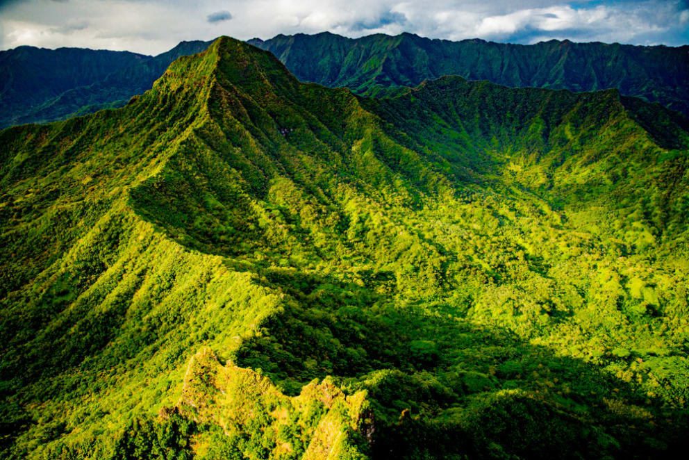 A Look at Oahu's Inactive Volcanoes: the Waianae & Koolau Ranges