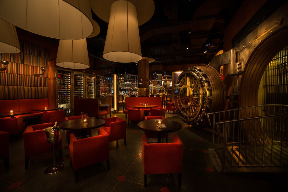 Butcher & Banker: Dine In The New Yorker Hotel's Old Bank Vault