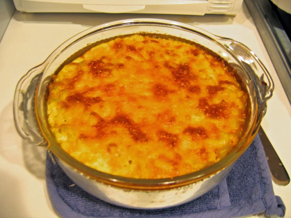 Bring the tropics inside with this recipe: Bajan Macaroni Pie