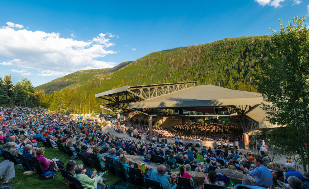 Ford Amphitheater Vail Colorado events