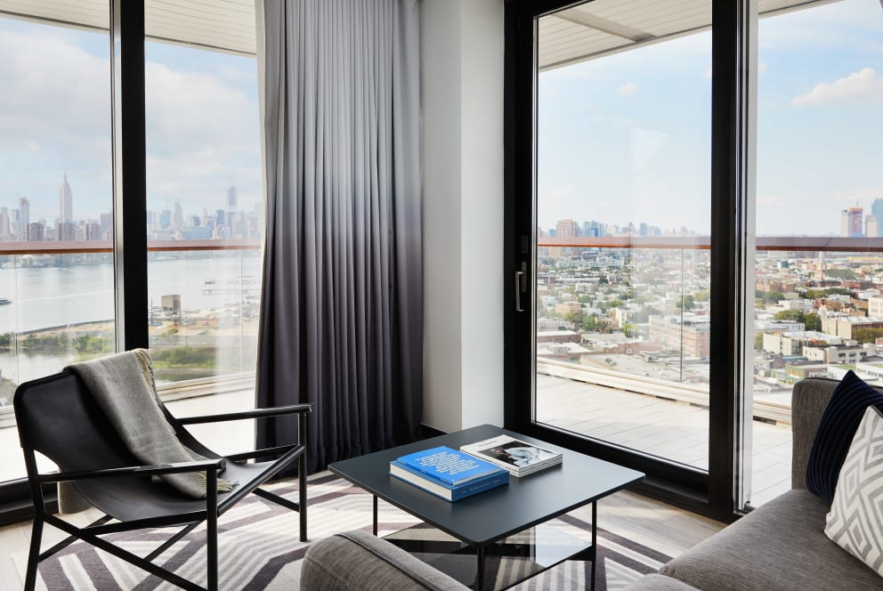 Gotham Corner Suite With Wraparound Balcony