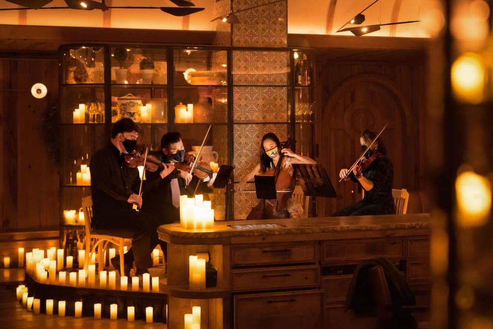Candlelight Dinner at Leuca: From Bach to Beatles