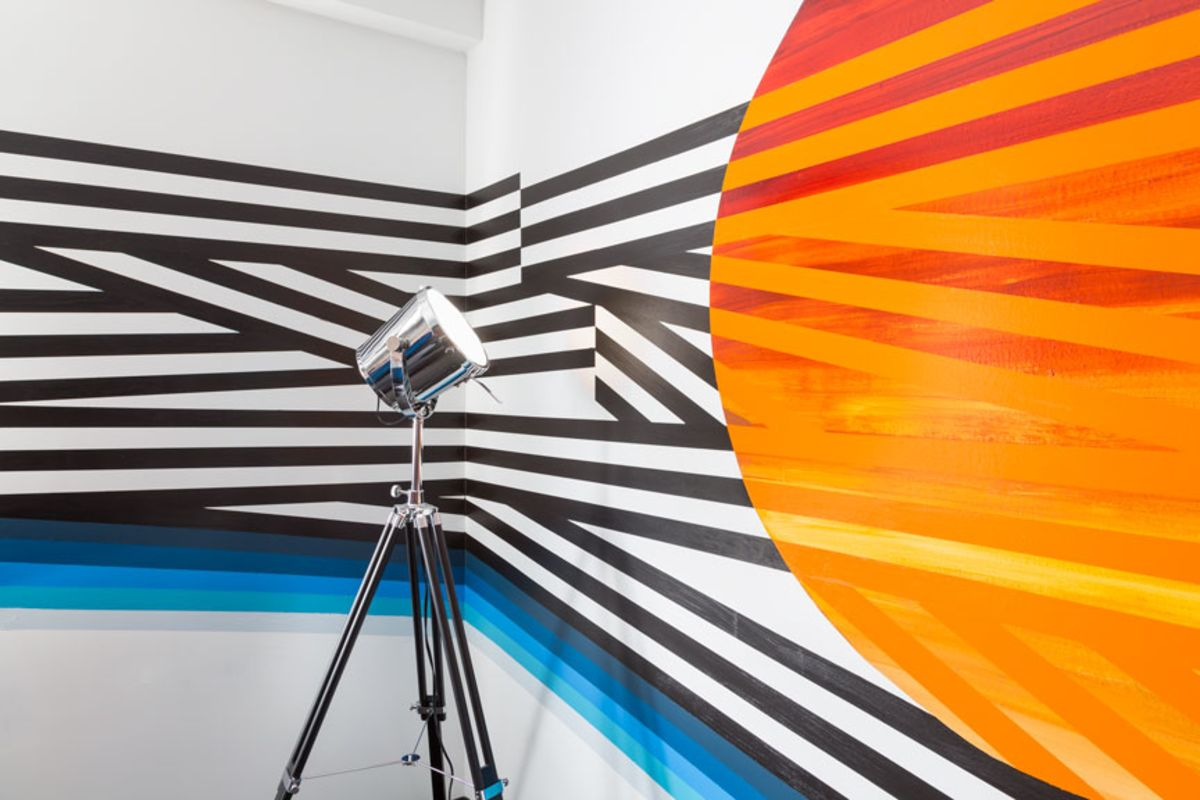 colorful-artwork-with-stripes-in-studio-allston-room