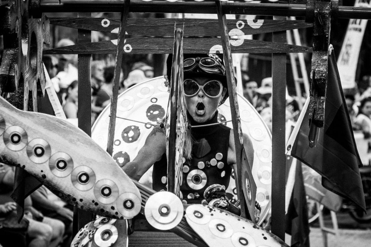 4th Annual Papio Kinetic Sculpture Parade