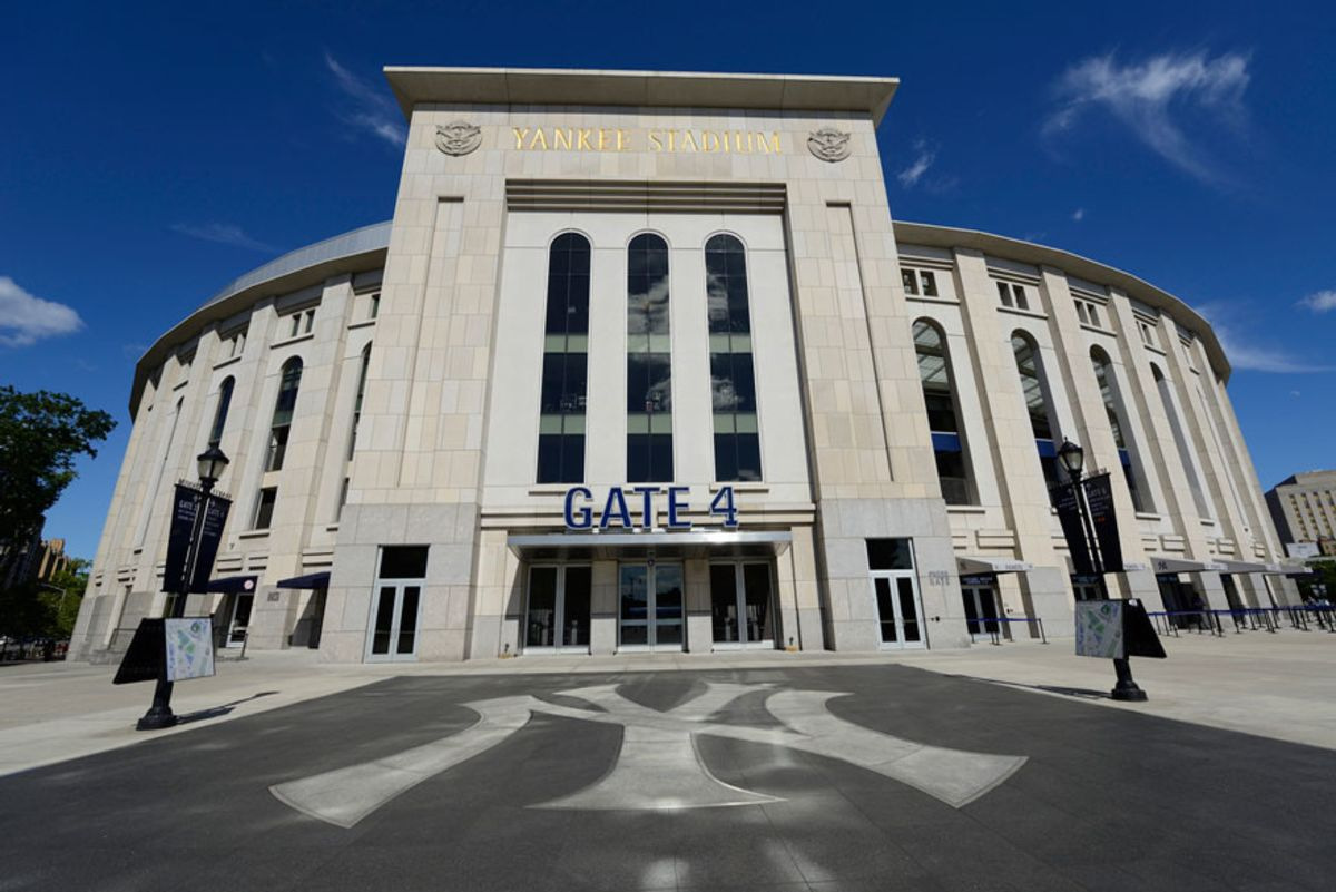 photo-of-gate-4-facade-of-yankee-stadium
