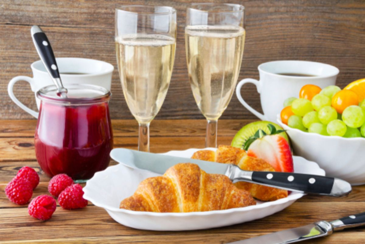 Bubbly Breakfast for Two
