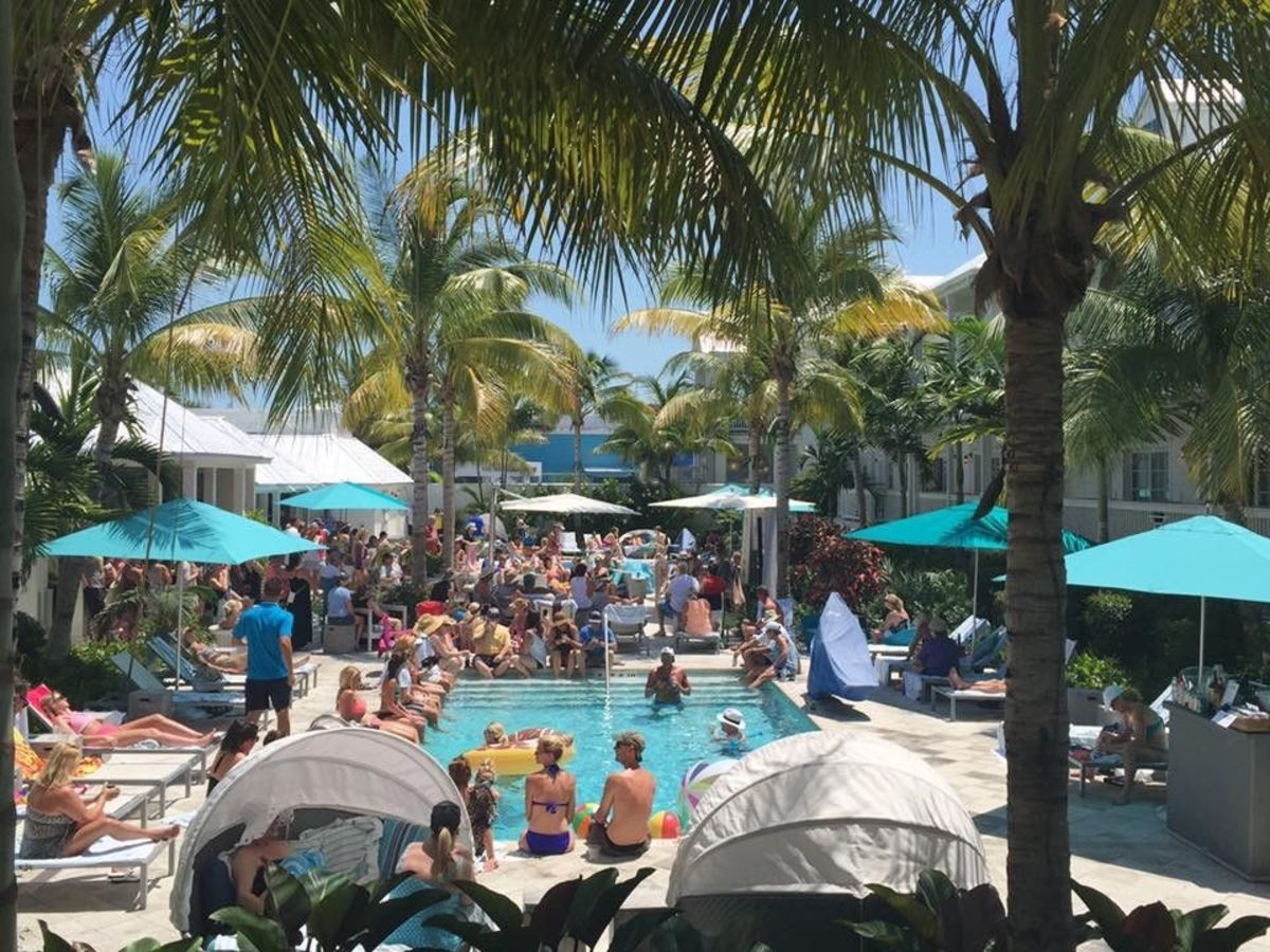 Pool Parties at The Marker Waterfront Resort