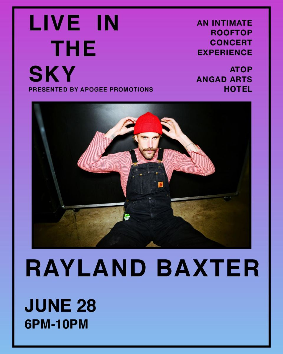 LIVE IN THE SKY RAYLAND BAXTER
