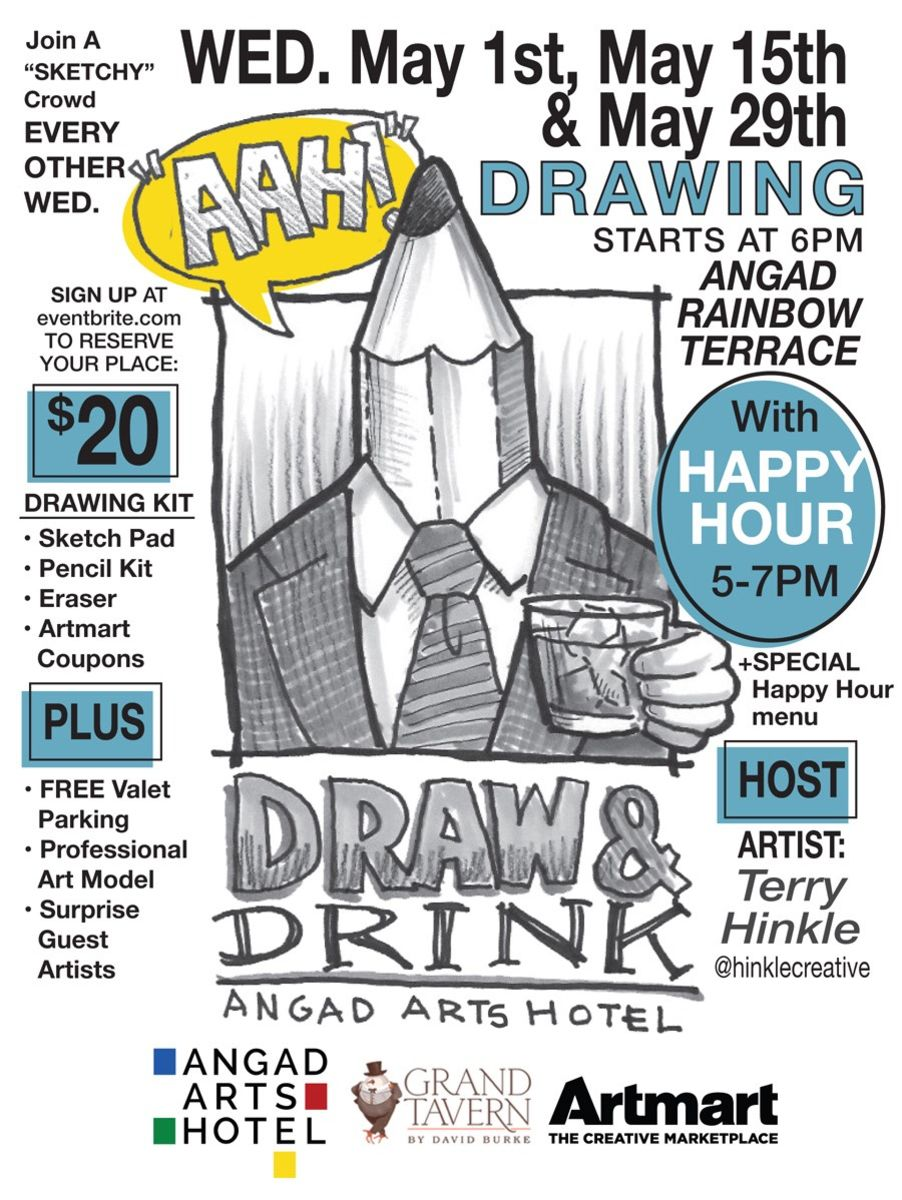 Drink draw with terry hinkle