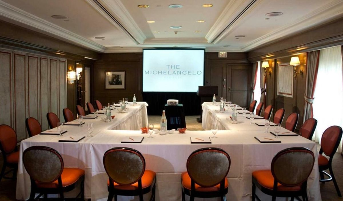 Corporate Event Venue The Michelangelo Hotel In Midtown Nyc