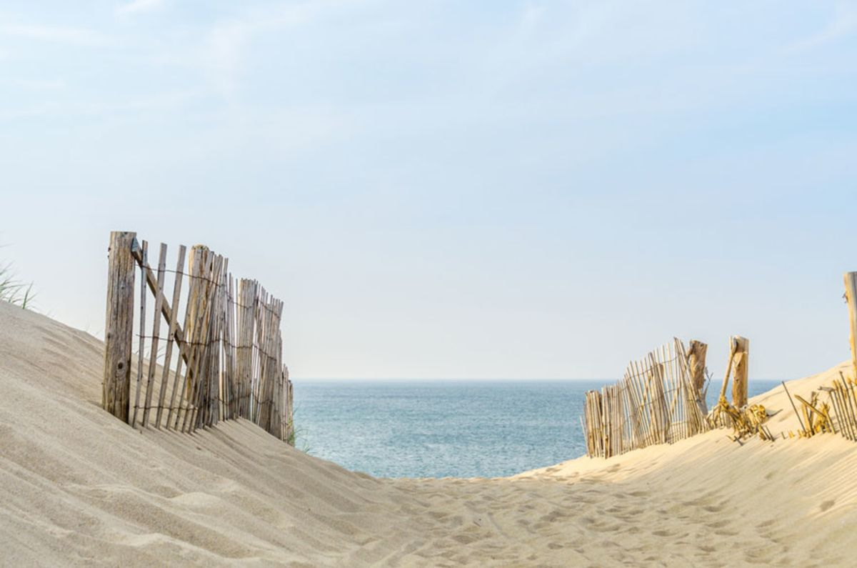 wooden-fence-lining-sandy-beach-path