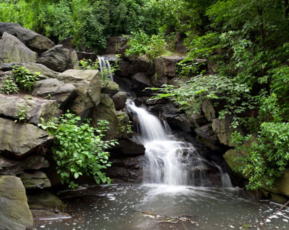 waterfall-in-north-woods-central-park