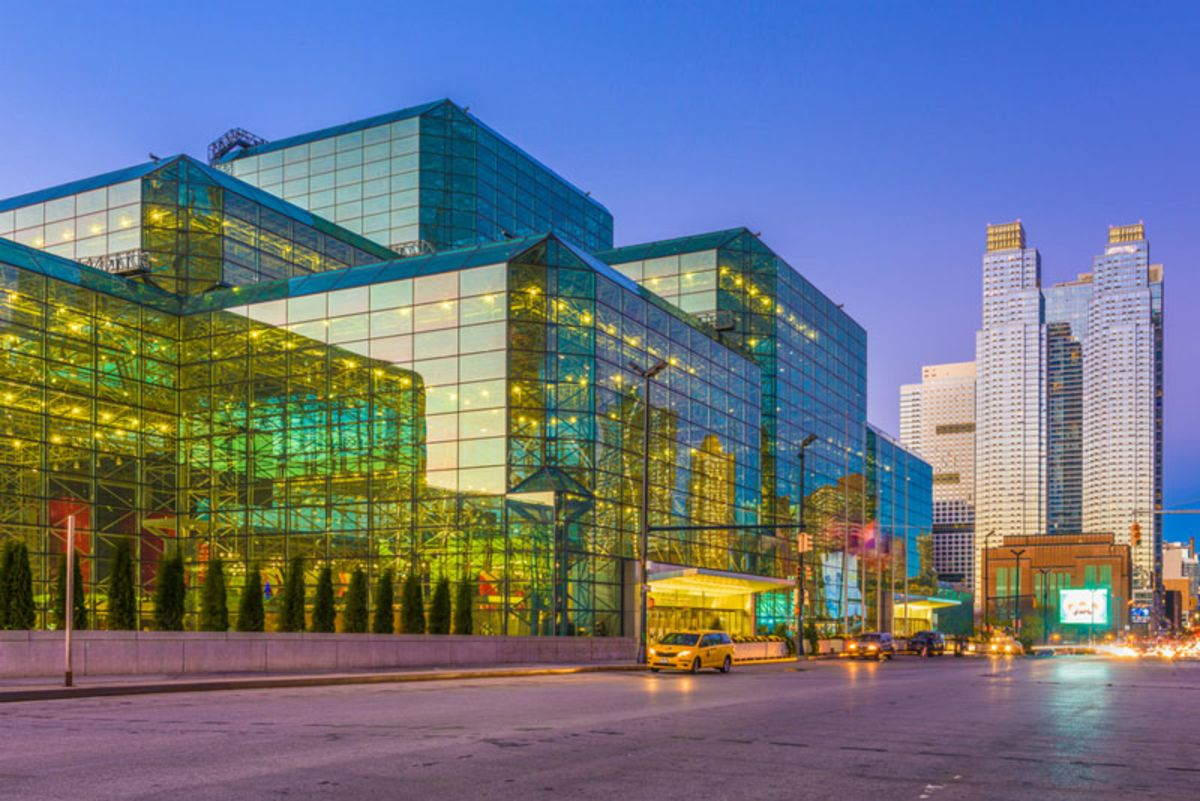 exterior-of-jacob-javits-center-at-twilight