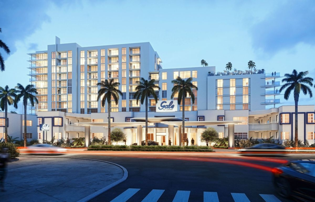 Gale Fort Lauderdale Exterior View night