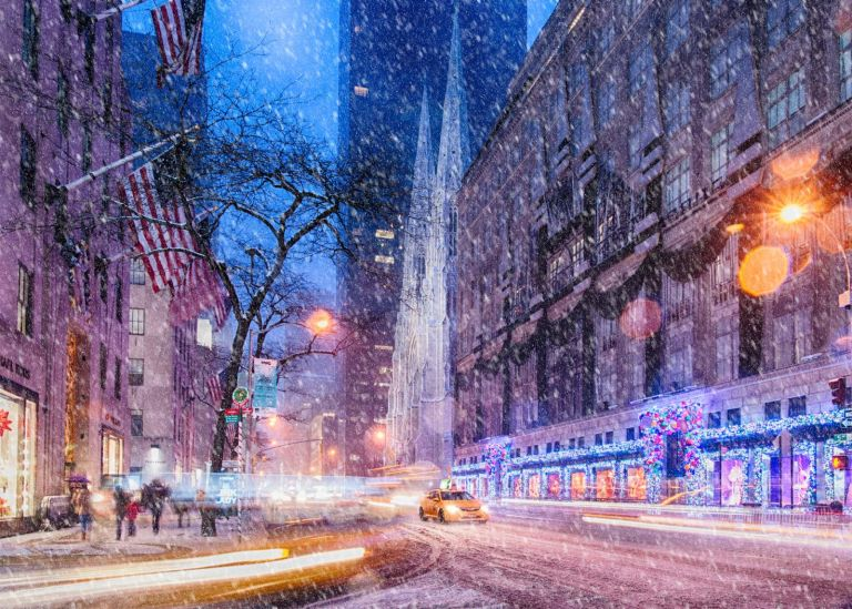 Photo of The Manhattan Club's snow over