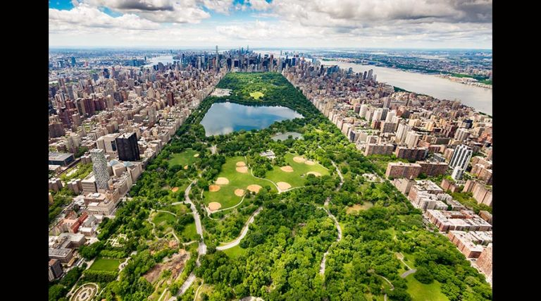 Photo of The Manhattan Club's Overhead view of Central Park