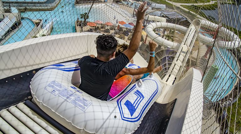Schlitterbahn Resort Corpus Christi - Guests on Waterpark Ride