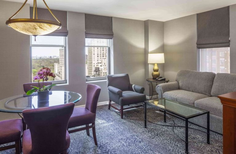 Photo of The Manhattan Club's One Bedroom Living Room