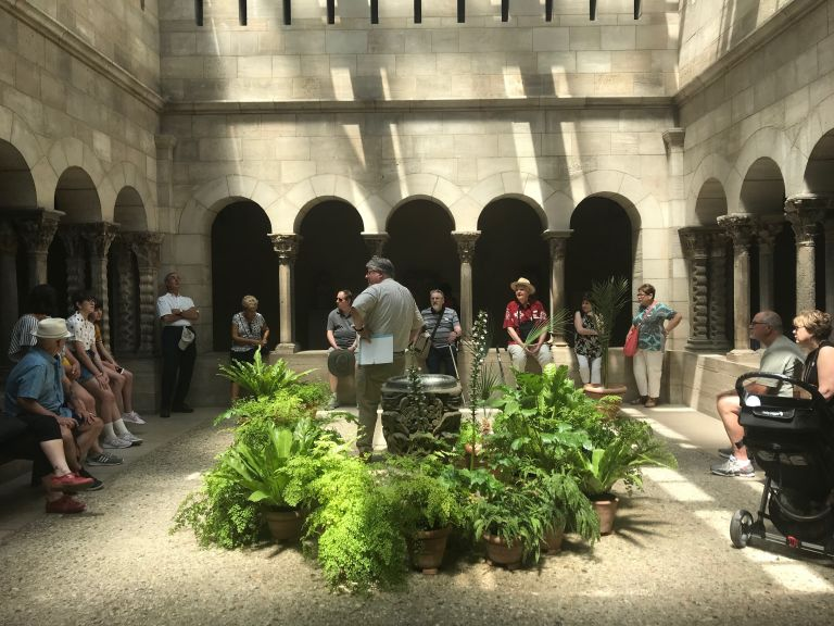 Owners on Cloisters Guided Tour