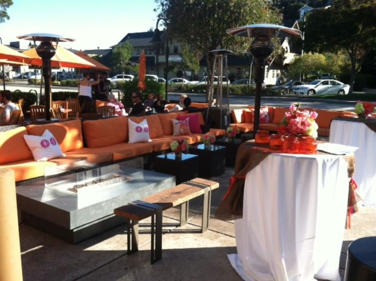 The Lodge at Tiburon Front Patio Event