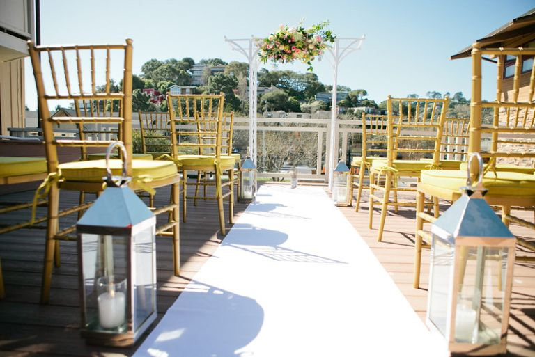 The Lodge at Tiburon Sky Deck Ceremony