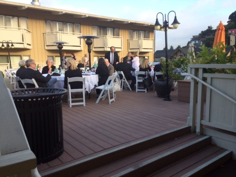 The Lodge at Tiburon Deck