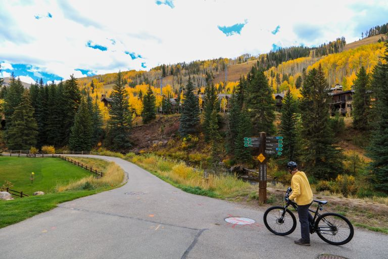 Biking in Vail