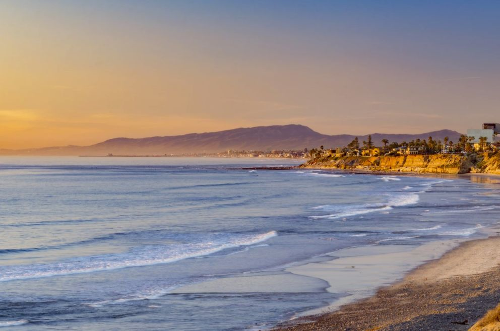 Nestled along the shoreline of Carlsbad, California