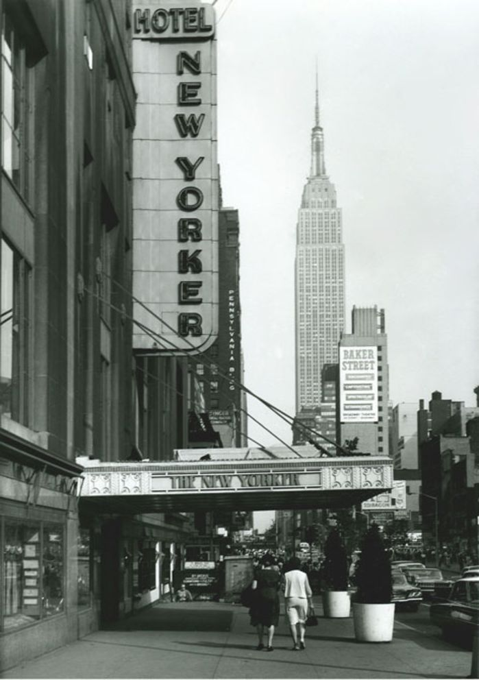 Being a Guest at The New Yorker Hotel: 1930s-1960s