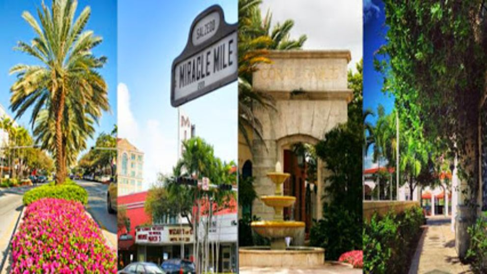 Coral Gables and Miracle Mile