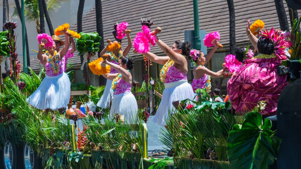 Where to Watch the King Kamehameha Floral Parade