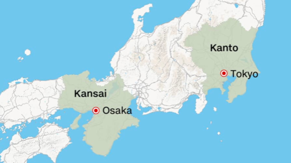 Kanto Vs. Kansai